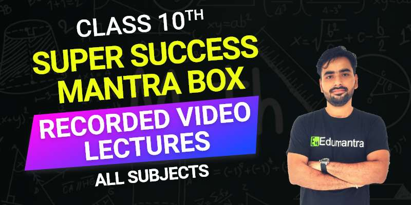 Class 10 - Recorded Video Lectures All Subjects
