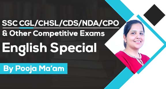 SSC CGL/CHSL/CDS/NDA/CPO - English Special